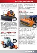 Neuheiten zur GaLabau 2012 - Iseki - Seite 5