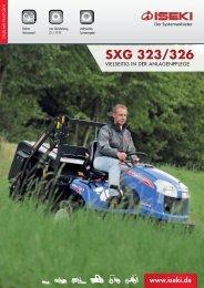 Broschüre SXG 323/326 - Iseki