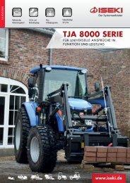 Prospekt TJA 8000-Serie - Iseki