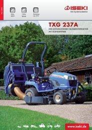 TXG 237 Broschüre - Iseki