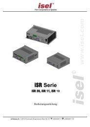 ISRxx Serie Bedienungsanleitung - Bedienungsanleitungen ...