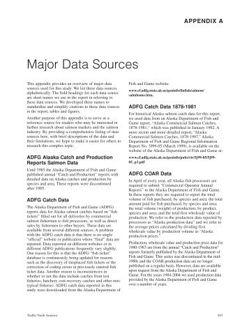 Major Data Sources - Institute of Social and Economic Research