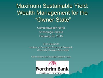 "Maximum Sustainable Yield: Wealth Management for the ""Owner ..."