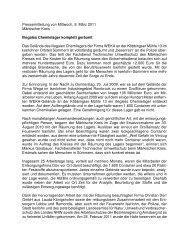 Illegales Chemielager komplett geräumt - Iserlohn