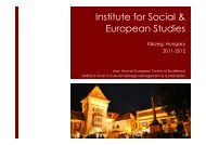 here - Institute for Social and European Studies