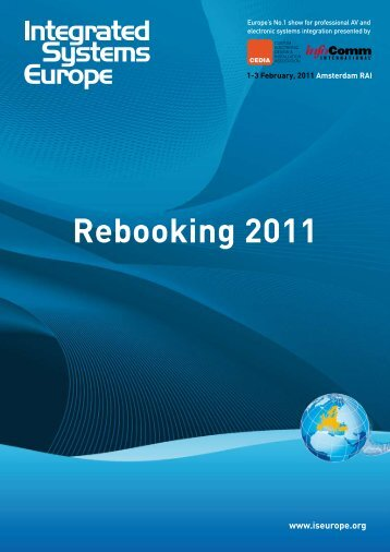 Rebooking 2011 - Integrated Systems Europe