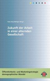 Zukunft der Arbeit in einer alternden Gesellschaft - ISF München