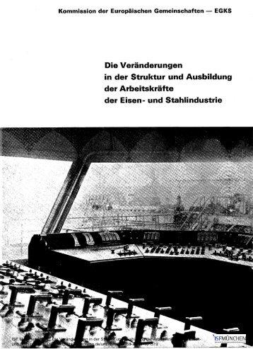 Die Veränderungen in der Struktur und Ausbildung ... - ISF München