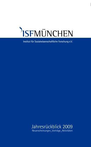 Jahresrückblick 2009 - ISF München