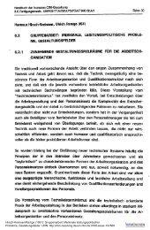 Gruppenarbeit: Merkmale leistungspolitischer ... - ISF München