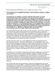 Pressemitteilung - ISF München
