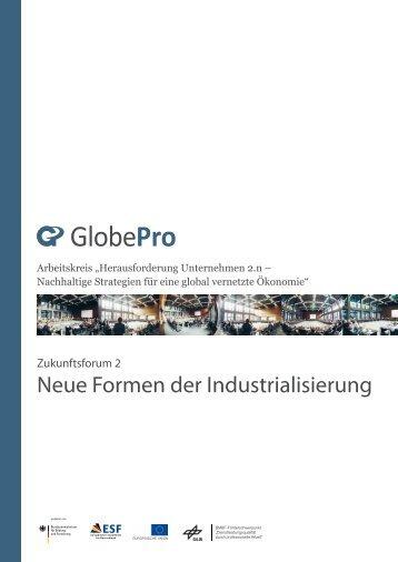 Zukunftsforum 2: Neue Formen der Industrialisierung. - ISF München