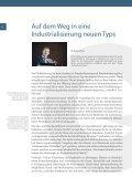 Zukunftsforum 2: Neue Formen der Industrialisierung. - ISF München - Page 6