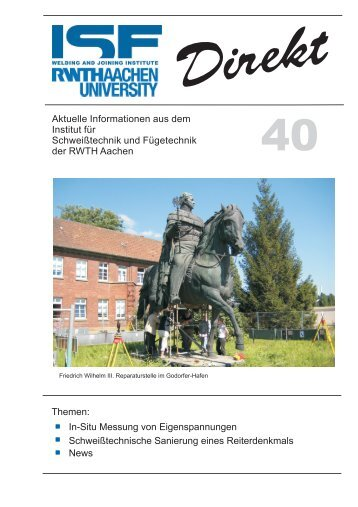 40 - (ISF) der RWTH Aachen