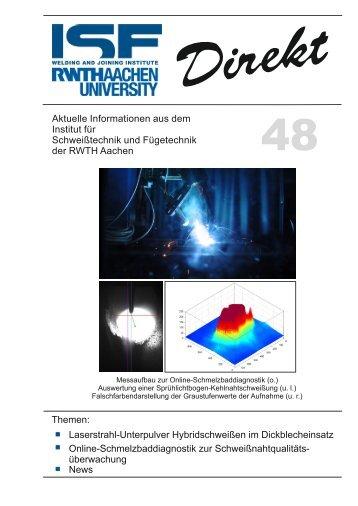 48 - Institut für Schweißtechnik und Fügetechnik