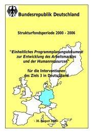 Bundesrepublik Deutschland - ISG