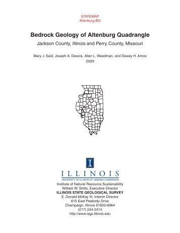 Bedrock Geology of Altenburg Quadrangle - Illinois State Geological ...