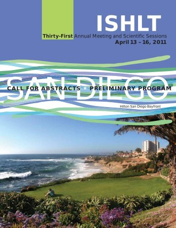 April 13 – 16, 2011 - The International Society for Heart & Lung ...