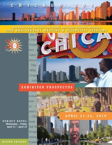 exhibitor prospectus:chicago - The International Society for Heart ...