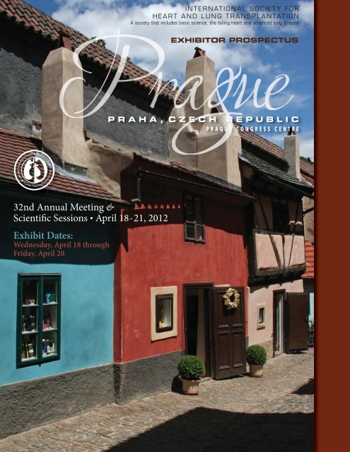 exhibitor prospectus:prague - The International Society for Heart ...