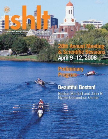 Preliminary Program BOSTON:Exhibitor Prospectus - The ...