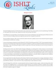Philip K Caves - The International Society for Heart & Lung ...