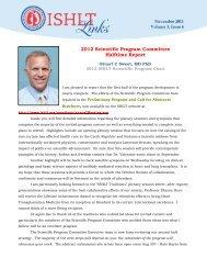 2012 Scientific Program Committee Halftime Report - The ...
