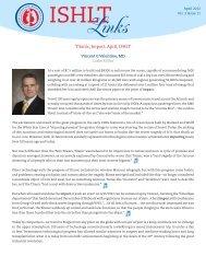 Titanic, Impact, April, ISHLT - The International Society for Heart ...