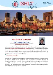 the magic of montreal - The International Society for Heart & Lung ...