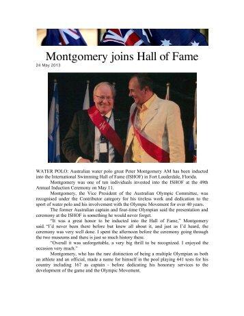 Black Splash Page 1 International Swimming Hall Of Fame