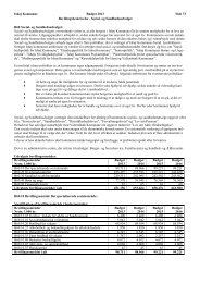 Ishøj Kommune Budget 2013 Side 73 Bevillingsbeskrivelse - Social ...