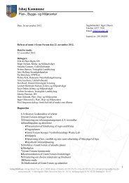 Referat af 22. november 2012 - Ishøj Kommune