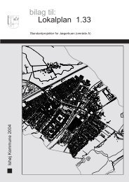 Standardprojekter Lokalplan 1.33 bilag til: - Ishøj Kommune