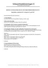 Referat fra seneste generalforsamling - Ishøj Kommune
