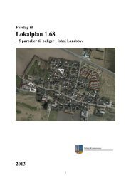 Lokalplanforslag 1.68. - Ishøj Kommune