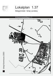 Lokalplan 1.37 - Ishøj Kommune