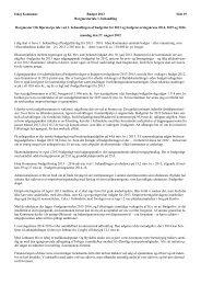 Budgettale - 1.behandling - Ishøj Kommune