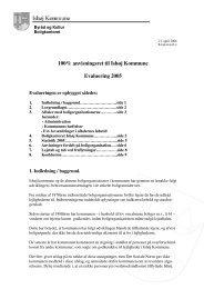 Boligrapport 2005 - Ishøj Kommune