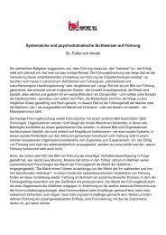ISI - Skript zum Vortrag - ISI - Institut für Soziale Interaktion