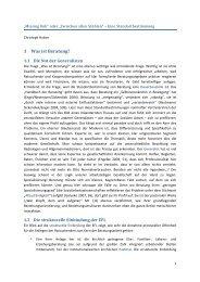 Missing link - ISI - Institut für Soziale Interaktion