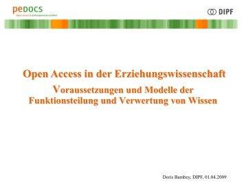 Interessen der Verlage - ISI 2009