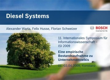 Diesel Systems - ISI 2009