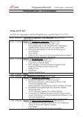 Programmübersicht Änderungen vorbehalten 1 Mittwoch ... - ISI 2009 - Page 5