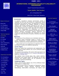icqre - Indian Statistical Institute