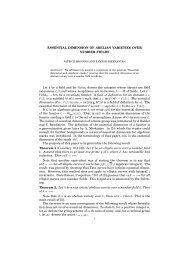 Essential Dimension of Abelian Varieties over Number Fields