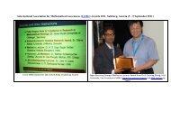 Georges Matheron Lecturer Award Presentation