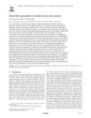 Cloud field segmentation via multiscale convexity analysis - Indian ...