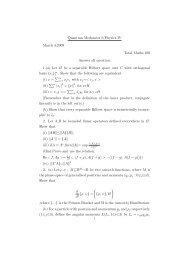 Physics IV 2008-09