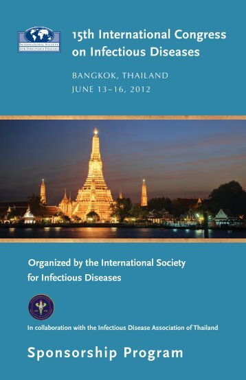 Sponsorship Brochure - International Society for Infectious Diseases