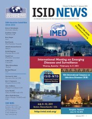 ISID NEWS January 2011 - International Society for Infectious ...